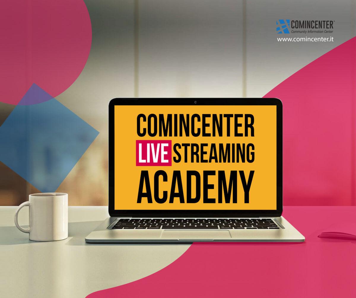 webinar live streaming comincenter academy