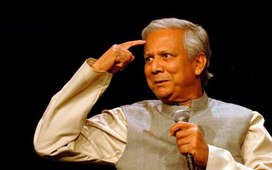 Muhammad Yunus, economista, premio Nobel per la pace