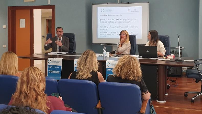 Conferenza Stampa Osservatorio Regionale Smart Working